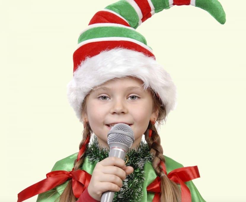 cantar en navidad