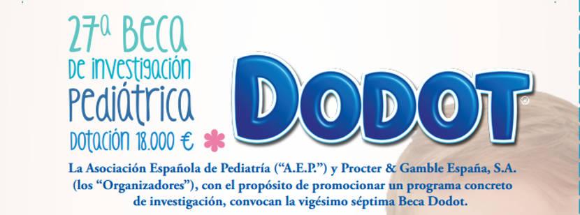 Convocada la 27ª Beca Dodot 2015 de Investigación Pediátrica