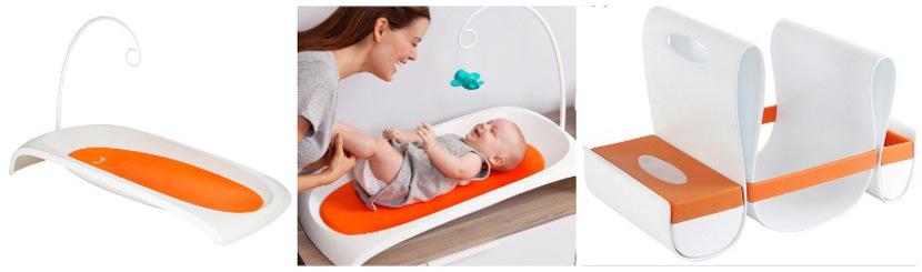 Fresh Baby de Boon, un cambiador de diseño para entretener a los bebés