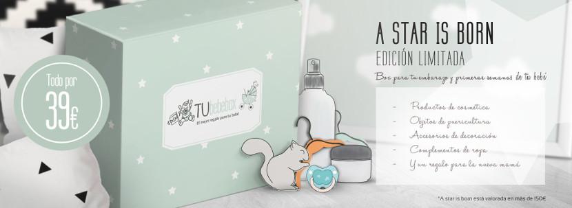 Tubebebox lanza 'A Star is Born' su primera caja de productos para mamás y bebés