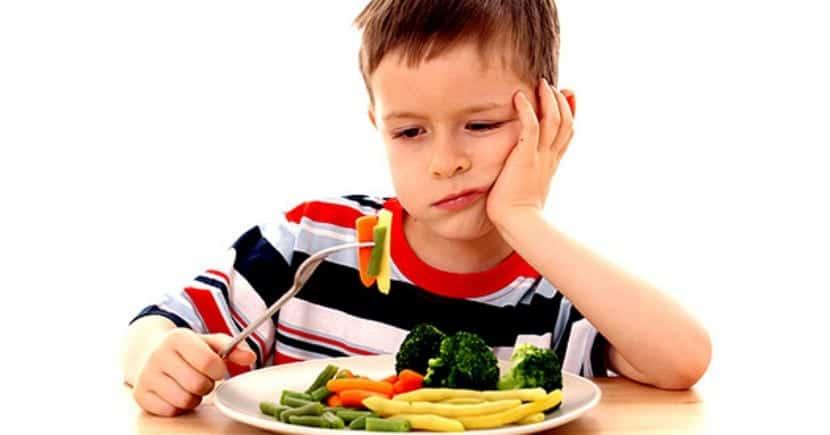 Pérdida apetito bebé