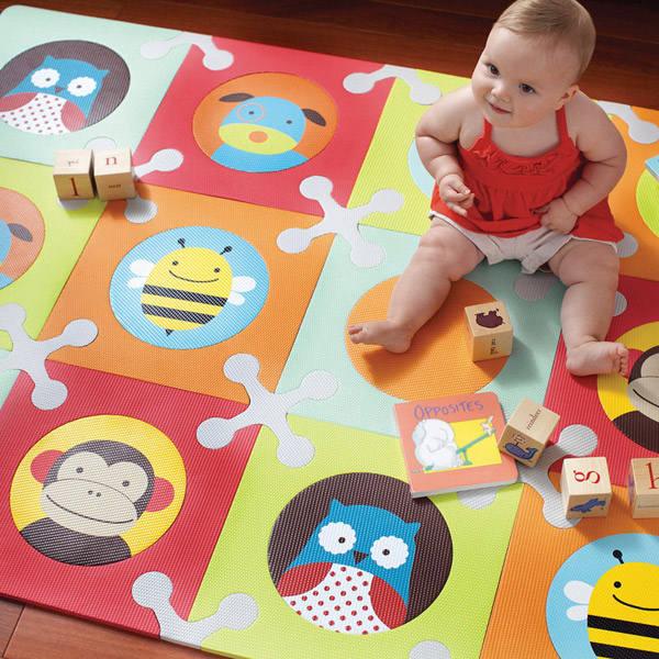 Playspot alfombra puzzle estilo zoo Skip Hop
