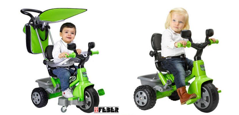 Triciclo Baby Plus Twister Complet de Feber