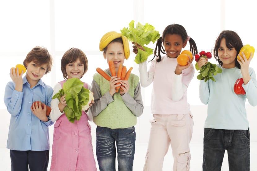 comida saludable infantil