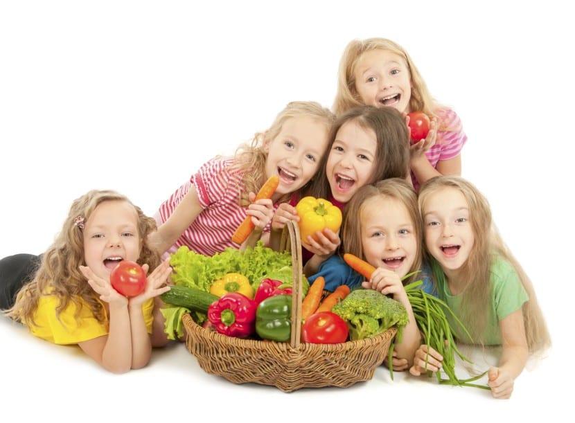 comida saludable nenes