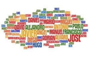Nombre de bebés tradicionales en España