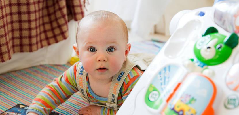 Un ambiente estéril no es bueno para los bebés, según un estudio