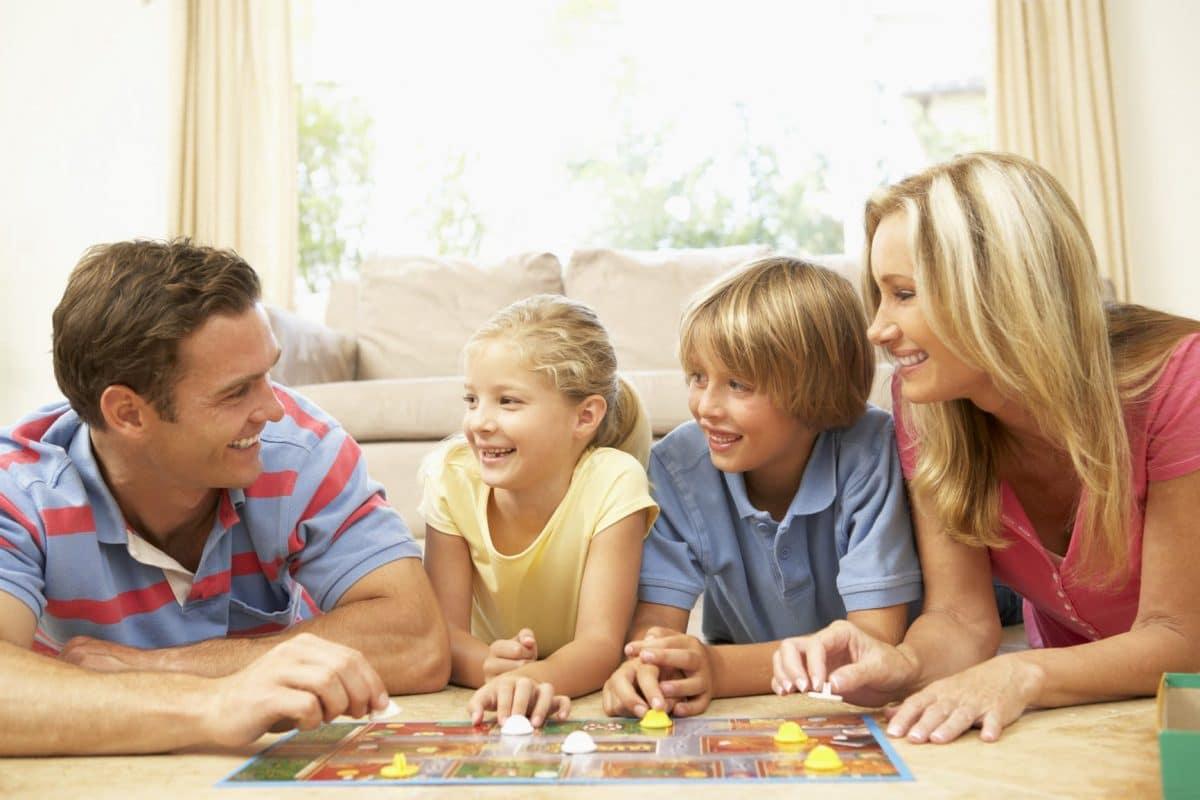 jugar en familia