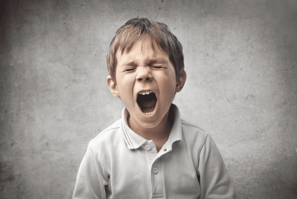 nene enfadado