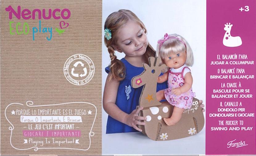 Famosa lanza Eco Play,  una nueva línea de accesorios ecológicos para Nenuco