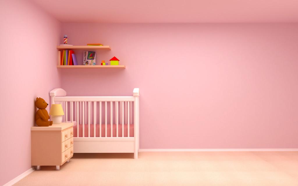 dormitorio infantil bebe nena