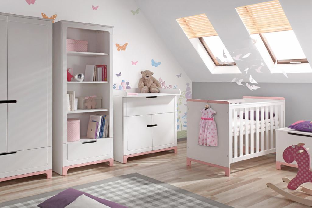habitacion bebe rosa