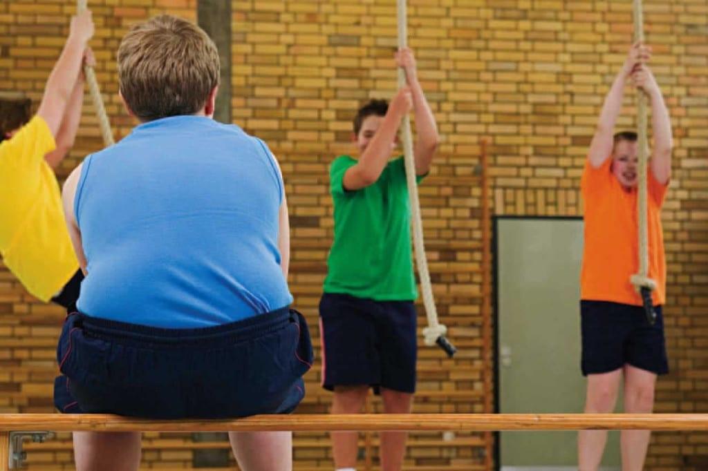 obesidad infantil gimnasia