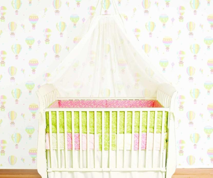 papel pintado bebe