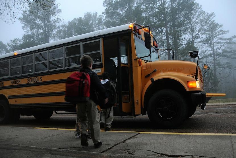 seguridad en autobuses escolares