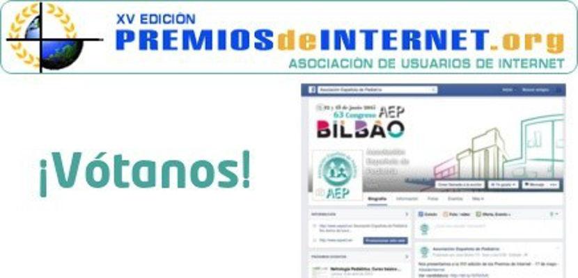 La página de Facebook de la Asociación Española de Pediatría, finalista en los Premios de Internet