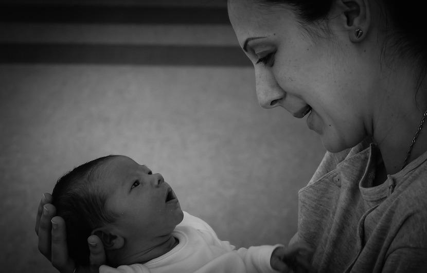 visitar bebé