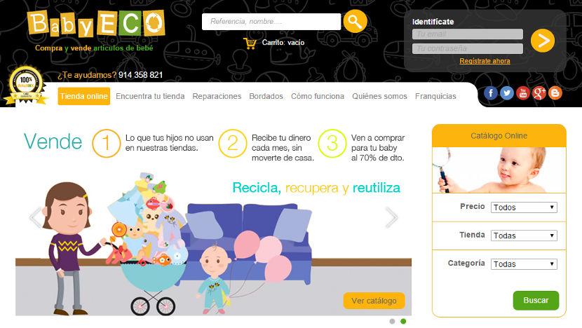 BabyECO, artículos de segunda mano revisados y garantizados para tu bebé