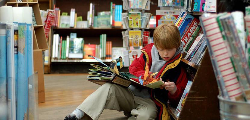 Lectura para vacaciones: Deja que tu hijo elija lo que quiere leer