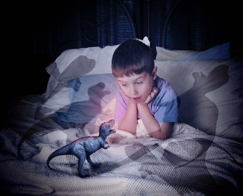 Ayúdale a solucionar los problemas con miedos y terrores nocturnos