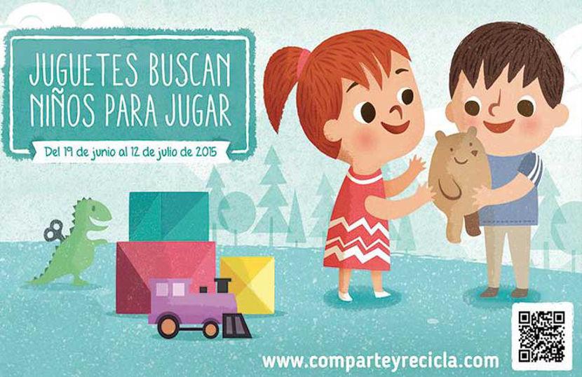 Arranca la segunda ediciónde Comparte y Recicla, la campaña solidaria de recogida de juguetes