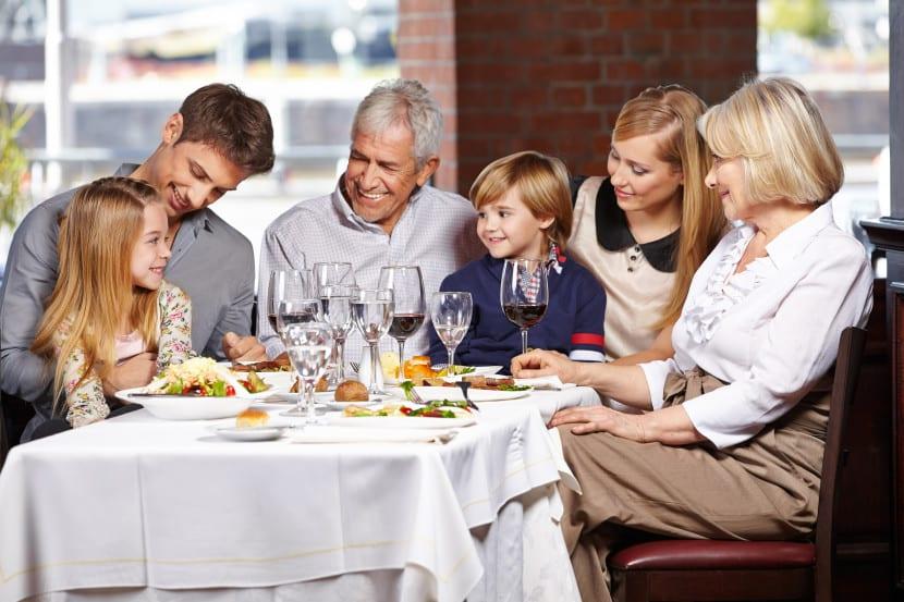 familia restaurante