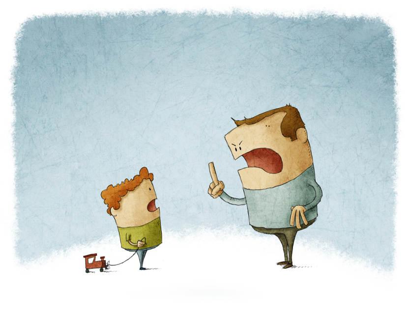 ¿Eres demasiado estricto con tus hijos? Primera parte