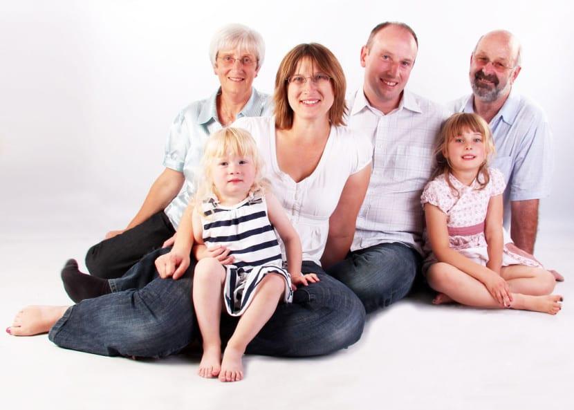 padres y abuelos