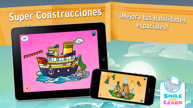 Super Construcciones, la nueva app educativa y gratuita de Smile and Learn