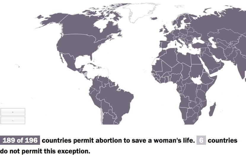 Aborto mapa