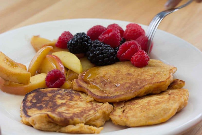 Desayuno rico en fibra