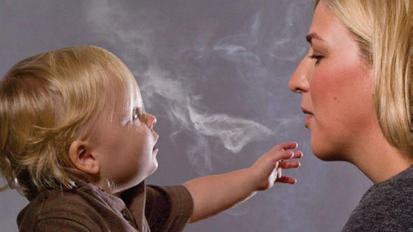 La exposición temprana al tabaco puede causar problemas de conducta en los niños