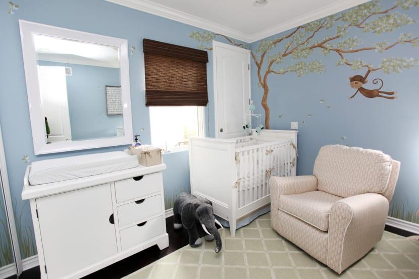 baby room azul