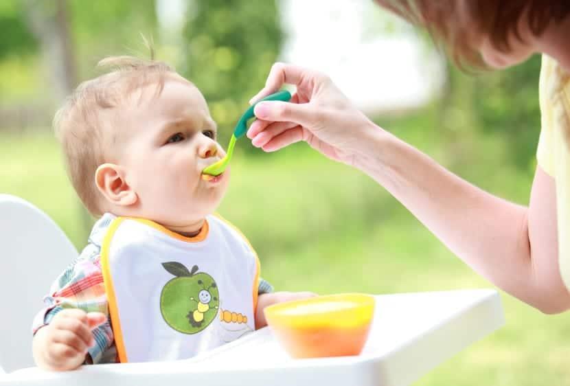 alimentación en niños menores de dos años
