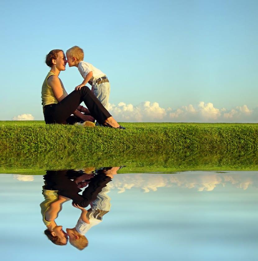 disciplina positiva madre e hijo