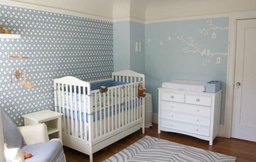 dormitorio bebe azul