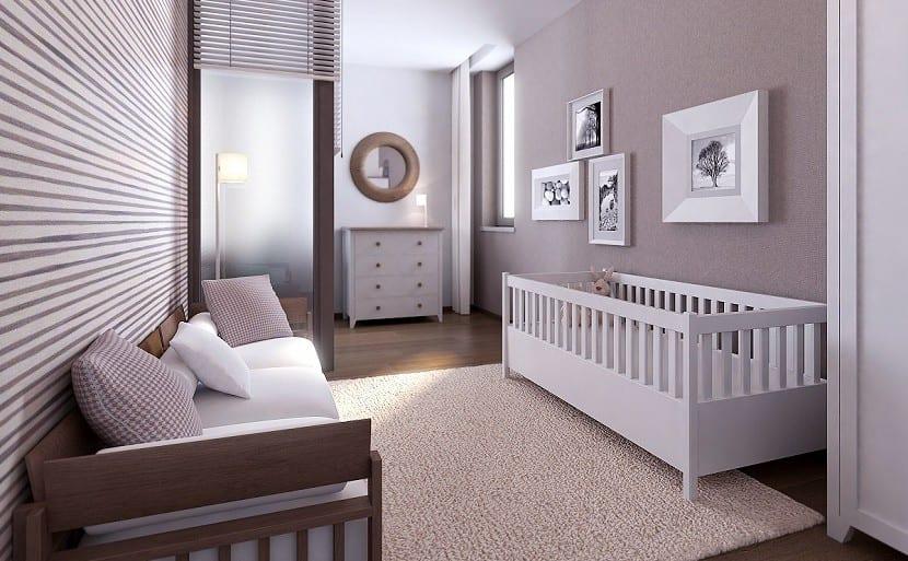dormitorio bebe estilo moderno