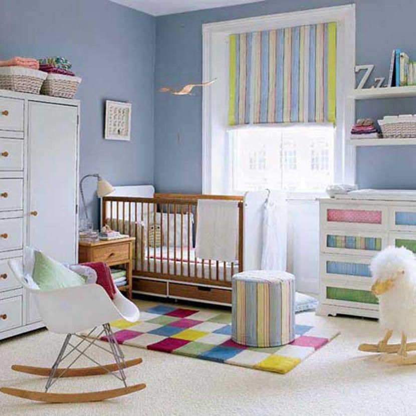 dormitorio bebe estilo vintage