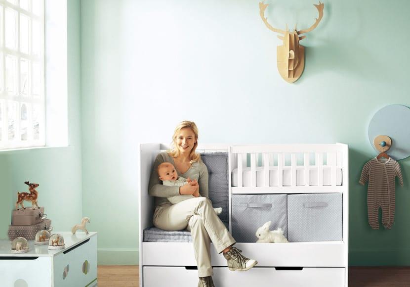 Ideas de muebles y accesorios para la habitaci n del beb - Muebles para habitacion de bebe ...