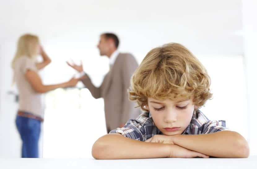 los niños en el divorcio