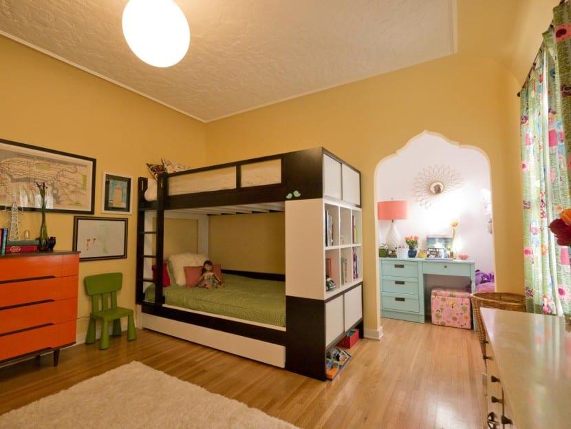Ideas Decorativas Para Un Dormitorio Infantil Compartido