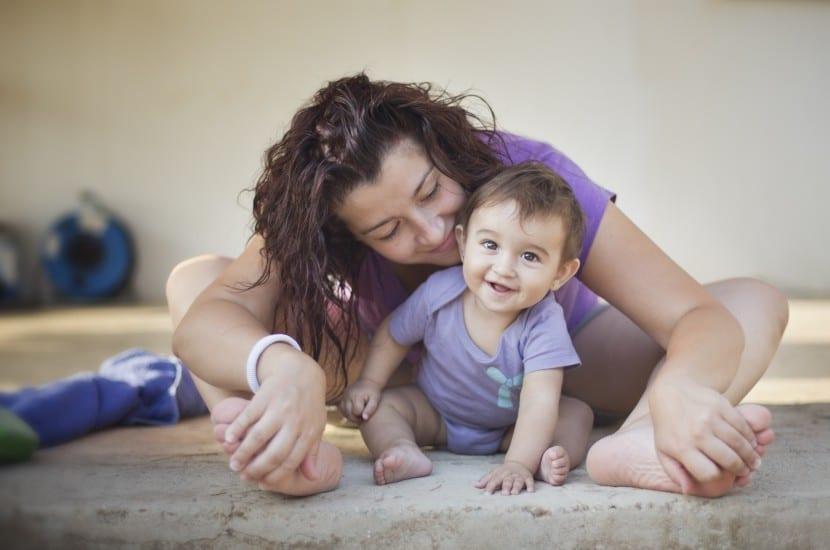 madre con niño con alta demanda