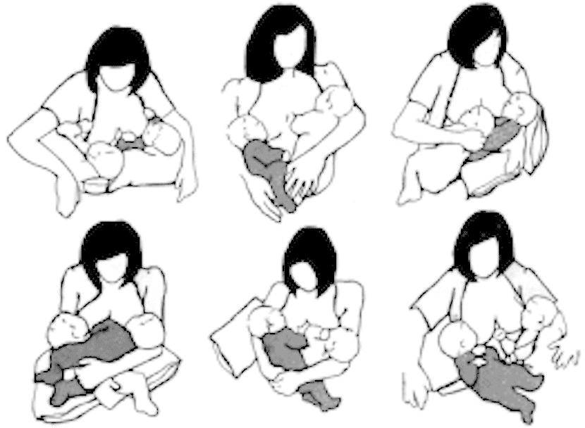 Amamantar tras un parto múltiple: querer es poder
