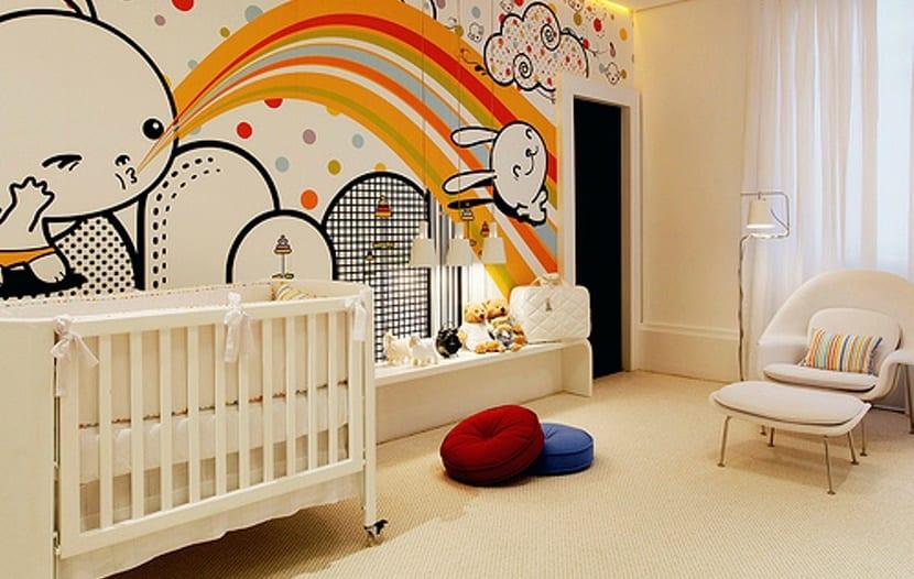 Ideas creativas para el dormitorio del beb - Como decorar el dormitorio de un bebe ...