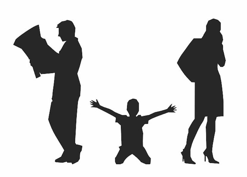Separación padres