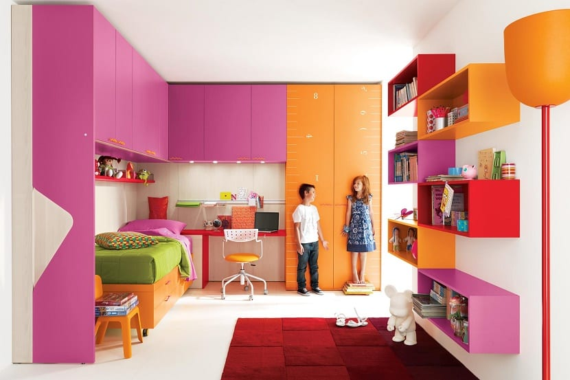 decoración dormitorio nenes y nena