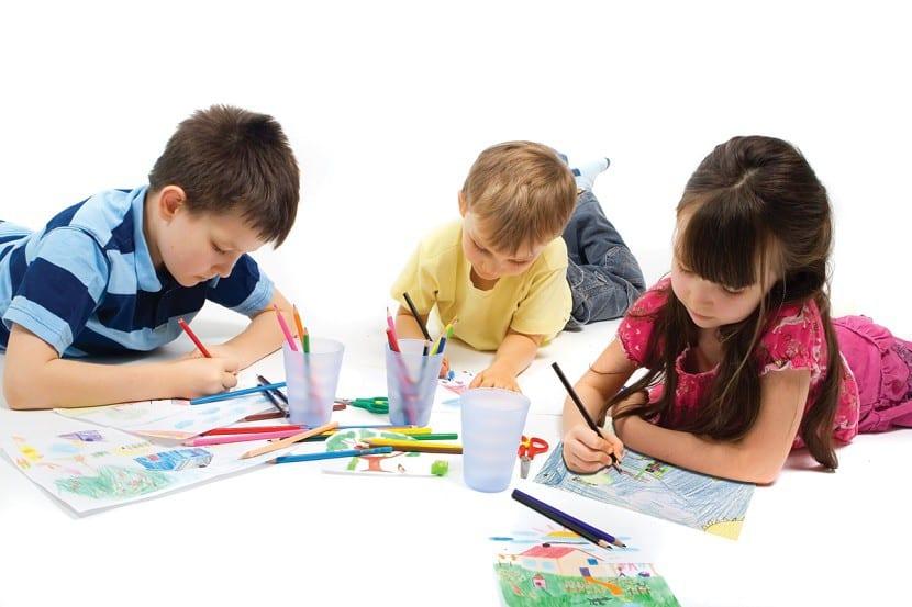 potenciar el dibujo infantil