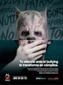 Una nueva campaña frente al bullying busca el compromiso de los menores