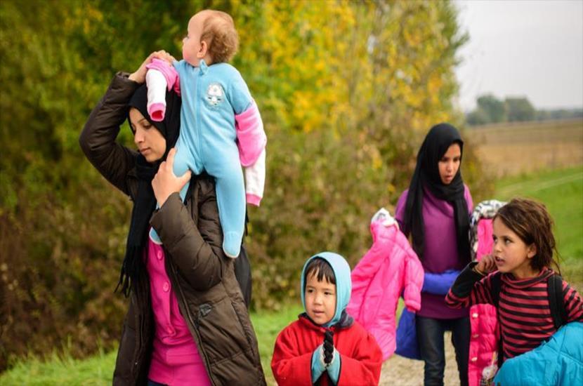 madres valientes refugiadas