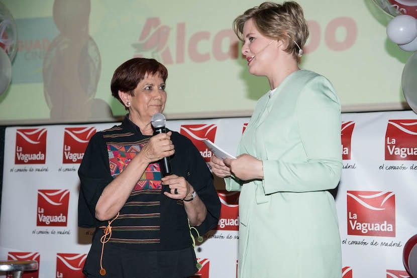 Tania Llasera junto a Carmen Maderuelo